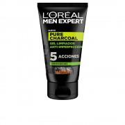 MEN EXPERT pure charcoal gel de curățare purificante 100 ml