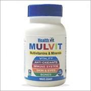 HealthVit Mulvit Multivitamins and Minerals 60 Tablets