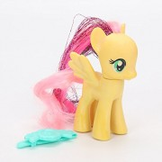 Pi² My Little Pony Toys Rainbow Power Rainbow Dash Pinkie Pie Lyra Heartstring Rarity PVC Action Figure Toy 8cm