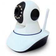 ZEMINI Wireless HD CCTV IP wifi Camera | Night vision Wifi 2 Way Audio 128 GB SD Card Support for LG OPTIMUS L7