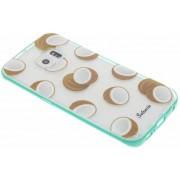 Foodies Coconuts TPU hoesje voor de Samsung Galaxy S6 Edge