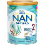 Lapte praf de continuare Nan Optipro 2 HM-O de la 6 luni x 400g Nestle