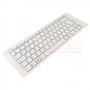 Tastatura Laptop Sony Vaio PCG-61311L alba cu rama + CADOU