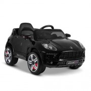Kids Ride on Porsche Macan Car - Black