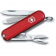 Herramienta Victorinox Classic Sd 7 Usos-Rojo