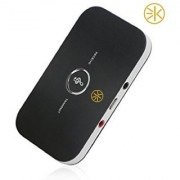 3Keys Wireless/Bluetooth Audio Receiver Transmitter 2-in-1 adapter for Streaming music or Wirelessly Watch TV.Supports