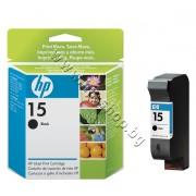 Касета HP 15, Black 25 ml, p/n C6615DE - Оригинален HP консуматив - касета с глава и мастило