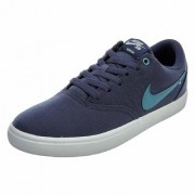 Nike Sb Check Solar Cnvs Blue Men'S Running Shoes
