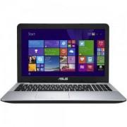 Лаптоп ASUS F555LAB-XO660D /15/I5, 15.6 инча, Intel Core i5-5200U, 4GB, 1TB, Черен