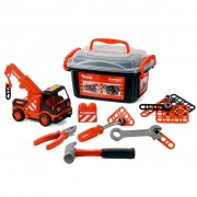 Polesie Mammoet Mini Crane Truck with Tools 28x19x16 cm 1450642