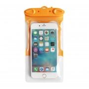 Estuche Impermeable Universal Para Iphone 7 6 6s Más Samsung S7 Teléfono Celular Prueba De Agua Bolsa Seca Con Silbato Para Teléfono Inteligente De Hasta 5,8 Pulgadas (naranja)