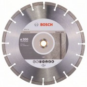 Диск диамантен за рязане Standard for Concrete, 300 x 20/25,40 x 2,8 x 10 mm, 1 бр./оп., 2608602543, BOSCH