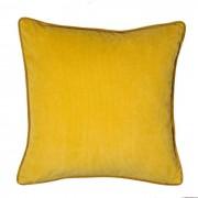Esprit Kissenbezug Cord 38 x cm Gold Polyester