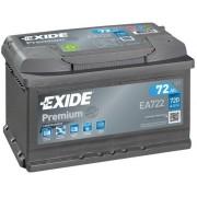 Acumulator auto Exide Premium 72Ah 720A