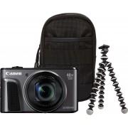 Canon »PowerShot SX720 HS« Kompaktkamera (WLAN (Wi-Fi), NFC, Travel Case & Gorillapod (Ministativ)