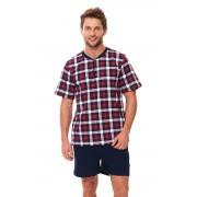 Pijama bărbați Rowan roșie L