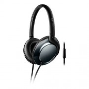 HEADPHONES, Philips, Microphone, Black (SHL4805DC)