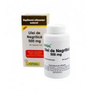 Ulei de negrilica 500 mg, 60 capsule