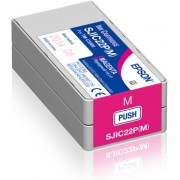 Tinta Epson SJIC22P(M), Magenta, Epson C33S020603, za TM-C3500, Original