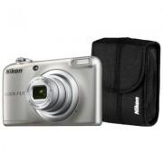 Nikon Aparat Coolpix A10 Srebrny + Pokrowiec