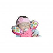 Cojin De Viaje Para Bebe Mami Ama Bebé-Rosa Bhúos