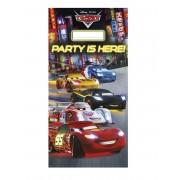 VegaooParty Décoration de porte Cars 152 x 76 cm