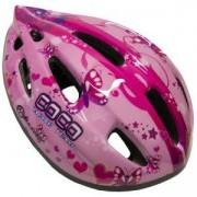 Каска за велосипед Flash - S, розова, MASTER, MAS-B201-S-pink