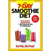 The 7-Day Smoothie Diet: Lose Up to a Pound a Day--And Sip Your Way to a Flat Belly!, Paperback/The Editors of Eat This Not That!