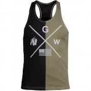 Gorilla Wear Sterling Tank Top - Zwart/Legergroen - L