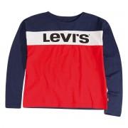 Levi's Kids Camisola de mangas compridas, 3 - 16 anosVermelho/Azul/Branco- 12 anos (150 cm)