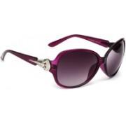 Eyeland Rectangular Sunglasses(Violet)