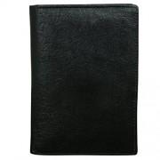 Style98 Black 100% Genuine Leather Travel Passport Wallet  Passport Case  Credi/Debit Card Holder  Card Case  Pocket Wallet  Buisness Card Case