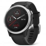 Smartwatch Garmin Fenix 6S Silver cu Black Band (42mm)