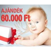 Ajándék Utalvány 60.000 Ft értékben