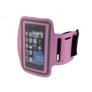 Universal Sports Arm Band for iPhone 4S/4 - Apple Sports Arm Band (Pink)
