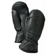 Hestra Leather Box Mitten Svart Lädervante Hestra