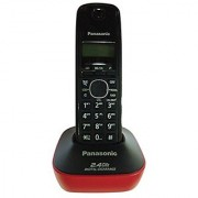 Panasonic KX-TG3411SXR 2.4 Digital Cordless Phone (Red)