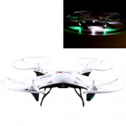 L6039 4-Channel 360 Degree Flips 2.4GHz Radio Control Quadcopter with 6-axis Gyro(White)
