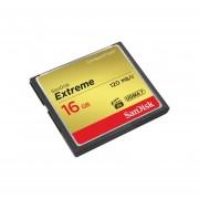 Tarjeta De Memoria Compact Flash 16GB Sandisk Extreme 120 MB/s
