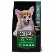 Hrana uscata pentru caini Cibau Puppy Medium, 12 Kg + 2.5 Kg