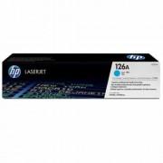 CE311A Lézertoner ColorLaserJet Pro CP1025 nyomtatóhoz, HP 126A, cián, 1k (TOHPCE311A)