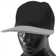Black Plain Cotton Caps 71 B