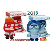 Intensamente set 2 piezas tristeza furia Funko Fabrikations Inside Out
