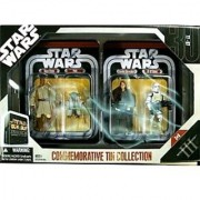 Star Wars Episode III 3 Collectible Tin Action Figure Set REVENGE OF THE SITH