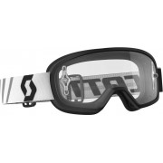 Scott Buzz MX Tonåring skyddsglasögon svart en storlek Svart Vit