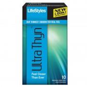 Lifestyles Ultra Thyn Latex Condoms (10)