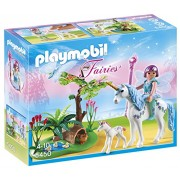 Playmobil Fairy Aquarella in Unicorn Meadow, Multi Color