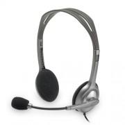 Slušalice sa mikrofonom Logitech H110, siva-