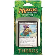 Magic the Gathering (MTG) Theros Intro Pack - Favors from Nyx Theme Deck (Includes 2 Booster Packs) White (Celestial Archon)