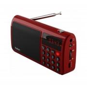 EY RoltonT50 Radio Portátil World Band Altavoz Música Reproductor-Rojo